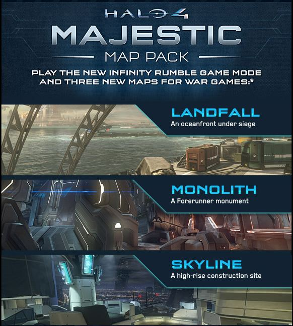 Pregamelobby Halo 4 Majestic Map Pack Now Available